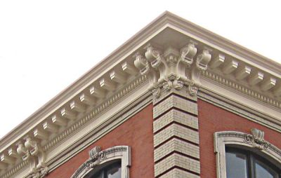 Replacing a Cornice RAND Engineering Architecture DPC